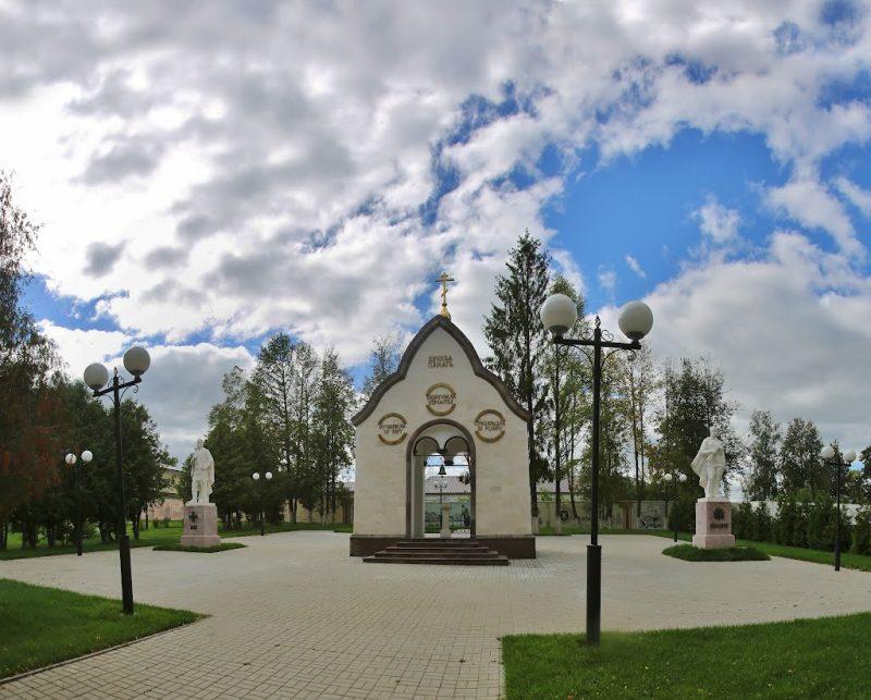 часовня на площади героев козельска