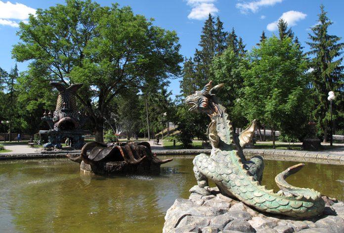 детский парк козельск