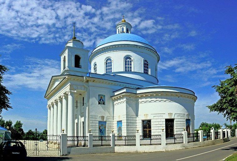 Собор Николы Белого, город Серпухов