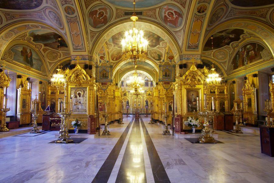Троицкий собор внутри, Подольск