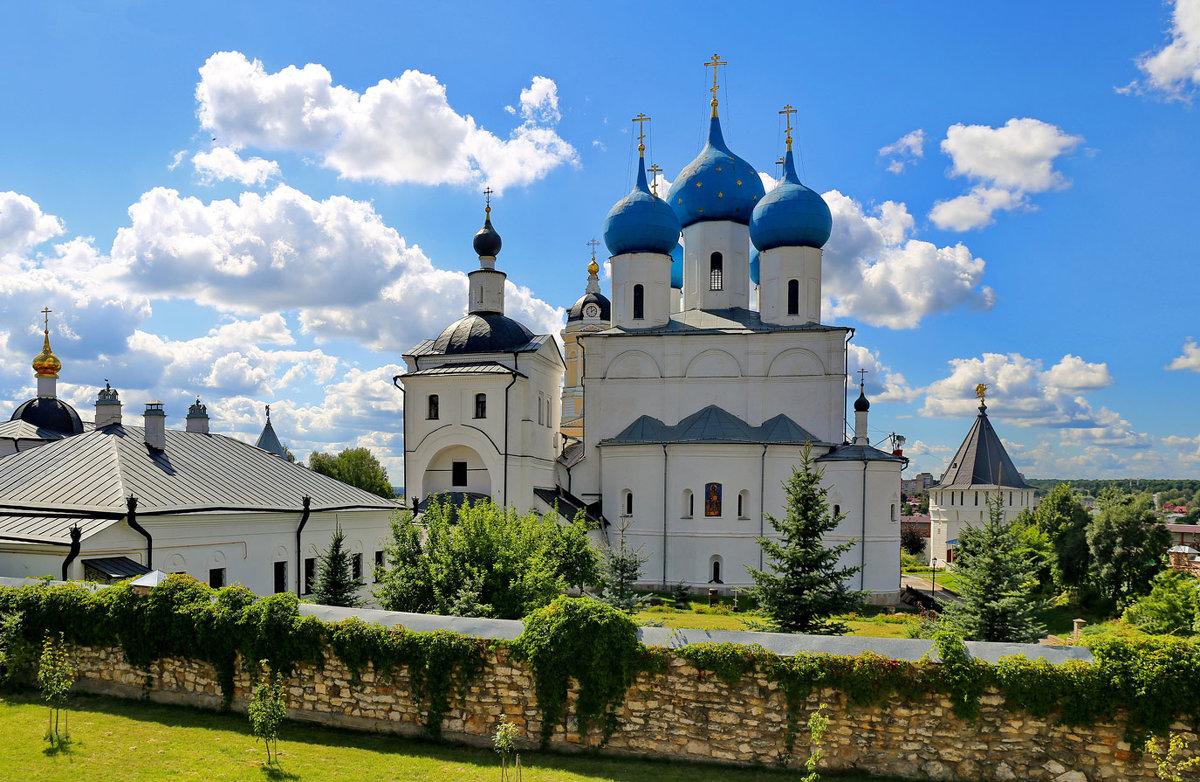Зачатьевский собор Высоцкого монастыря