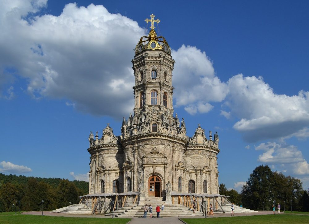 церковь Знамения в Дубровицах