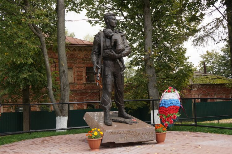 памятник бойцам спецназа