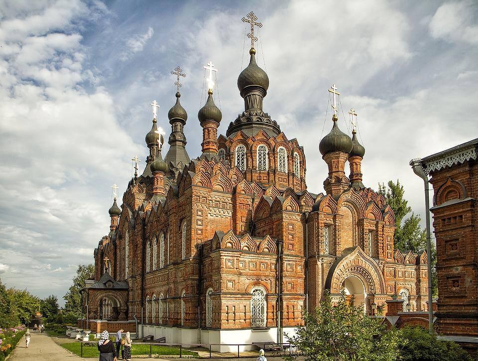 казанская церковь шамординский монастырь