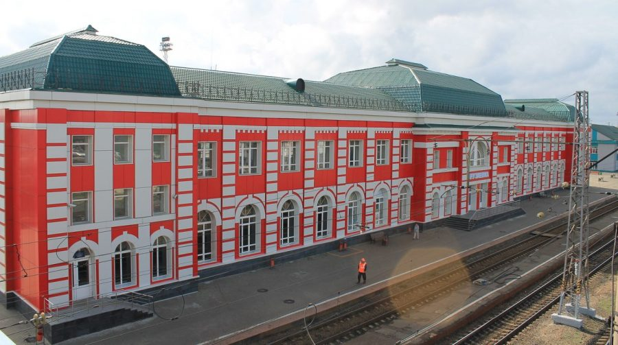 жд вокзал в Рузаевке