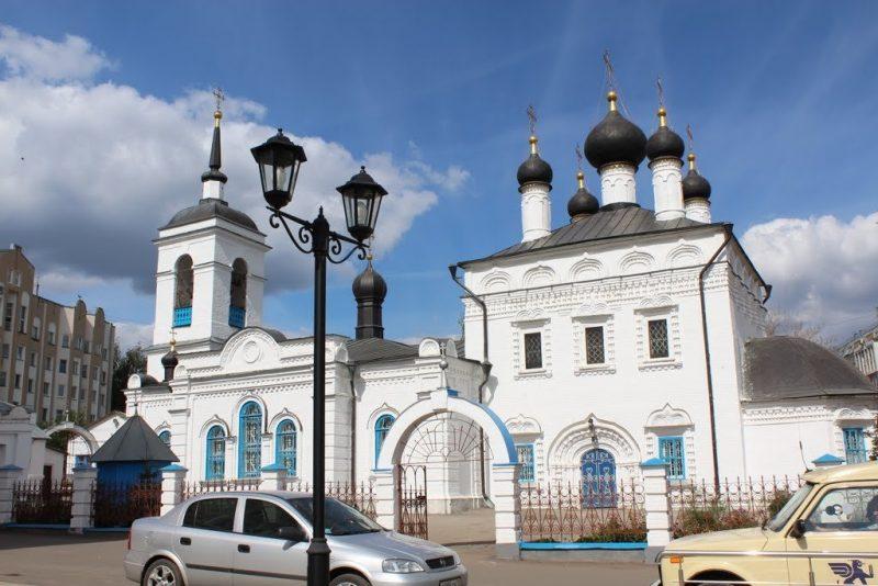 Церковь Иоанна Богослова Саранск