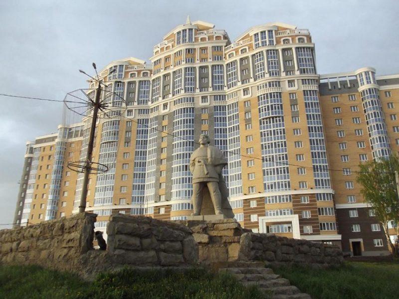 памятник Пугачеву в Саранске