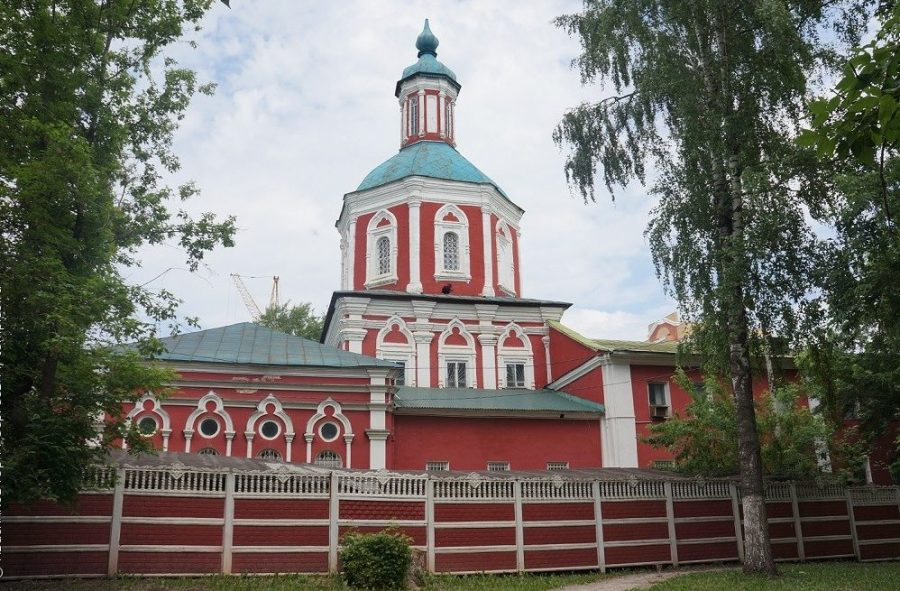 Трехсвятская церковь Саранск