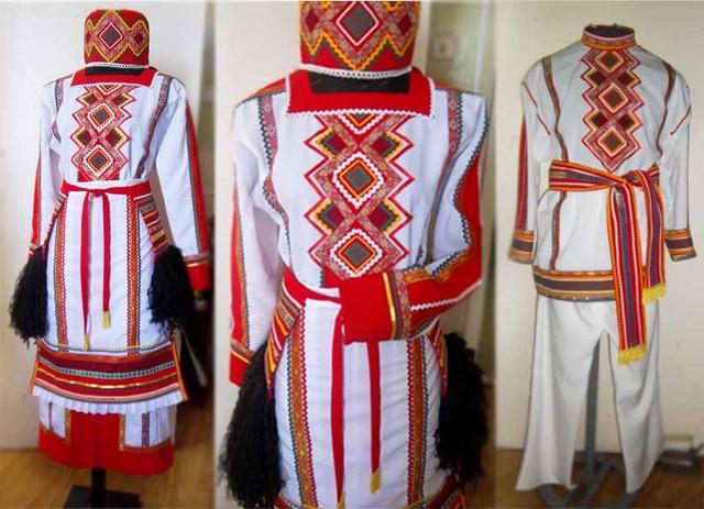Мордовские национальные костюмы