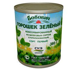 Саранский зеленый горошек