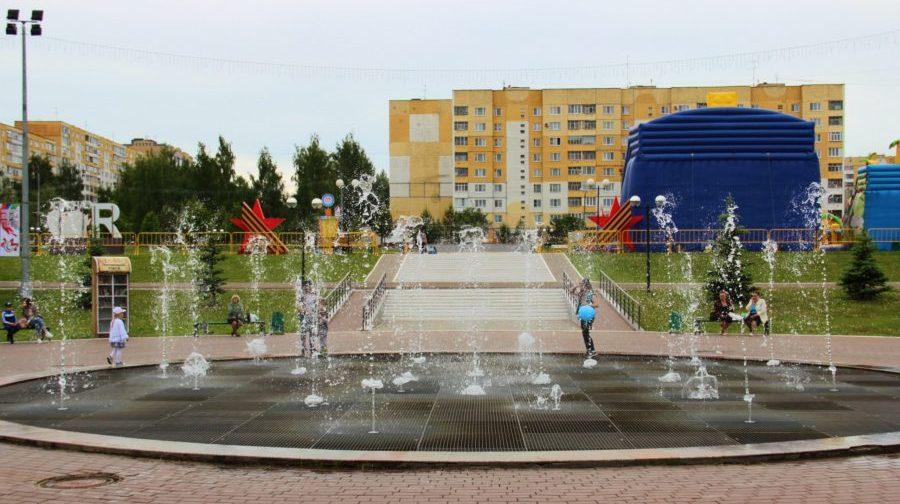 Фонтан Торнадо, Саранск