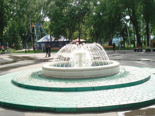 Фонтан в парке культуры и отдыха имени Пушкина