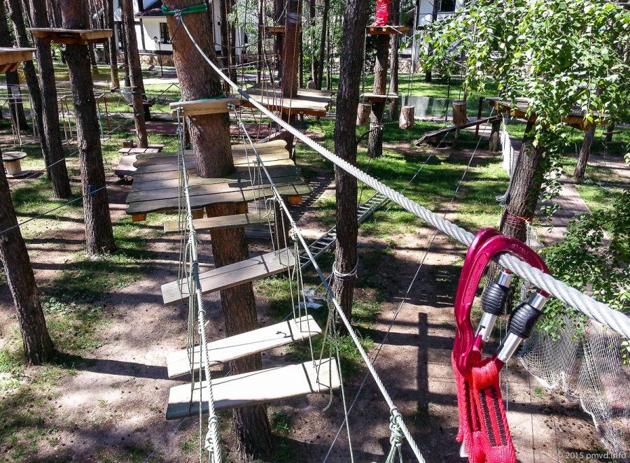 Тарзан-парк в Дракино