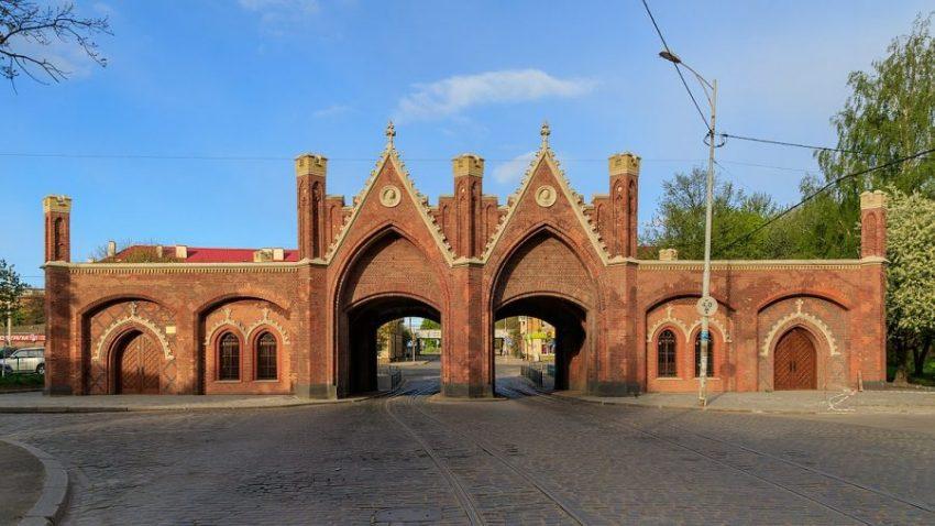 Бранденбургские ворота, Калининград