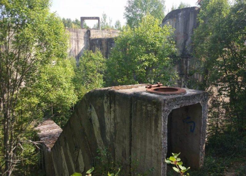 Заброшенный бункер Вороново