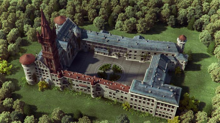 Фотореконструкция Кенигсбергского замка