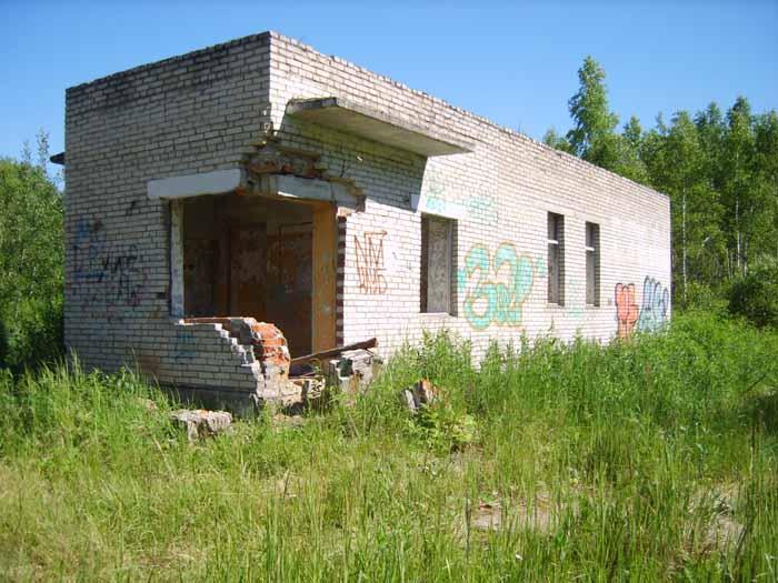 КПП бункер Вороново