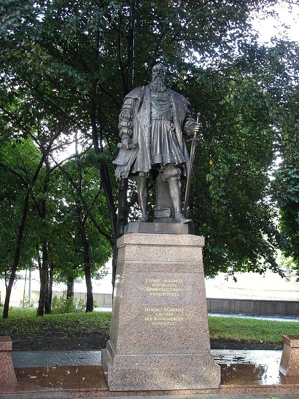 Памятник герцогу Альбрехту, Калининград