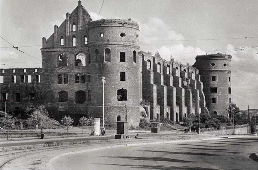 Руины Королевского замка, Калиниград