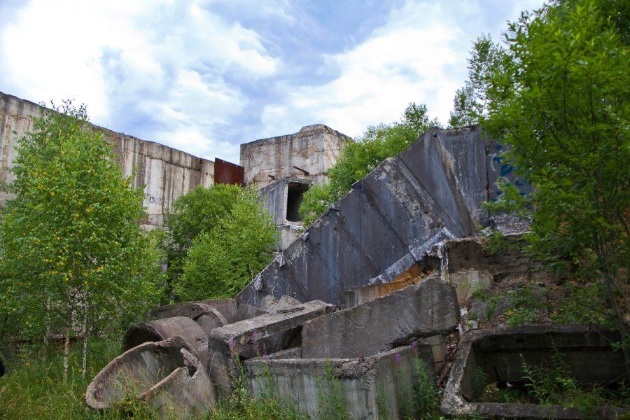 Заброшенный военный бункер под Подольском