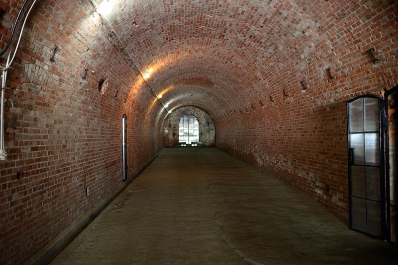 Центральная потерна форт №11 Денхофф