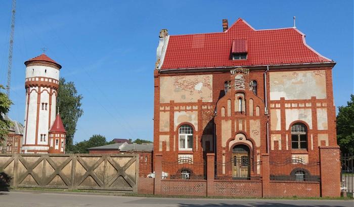 Пехотные казармы Балтийск