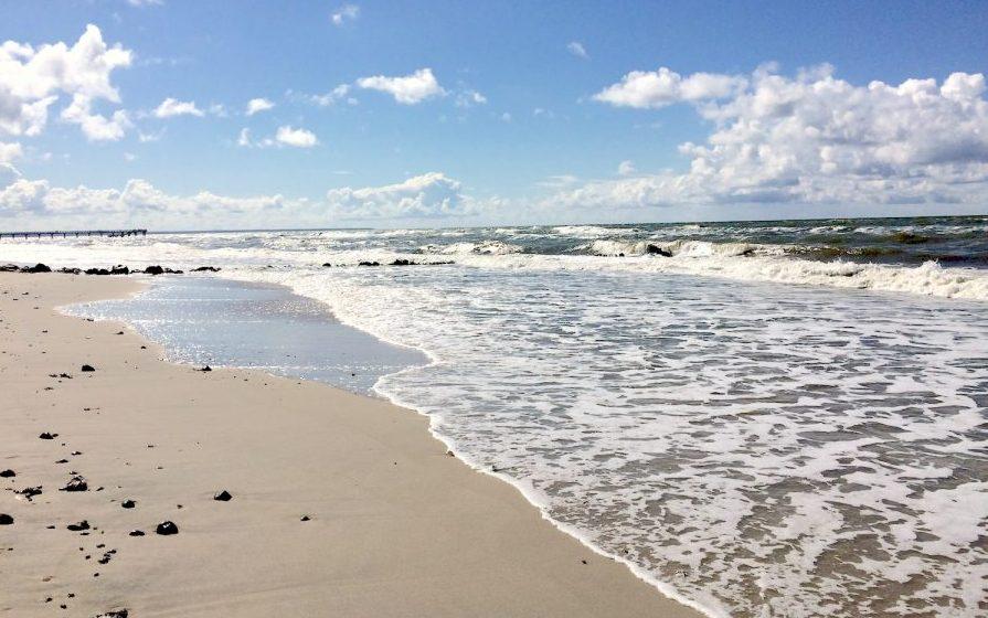 Пляж Янтарный