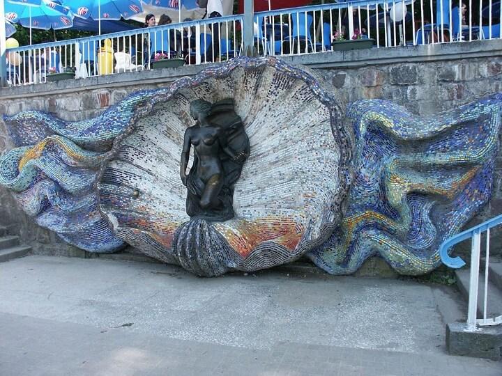 Скульптура Нимфа, Светлогорск