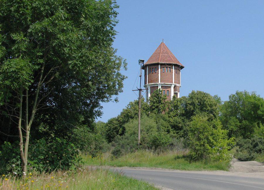 Водонаорная башня Янтарный