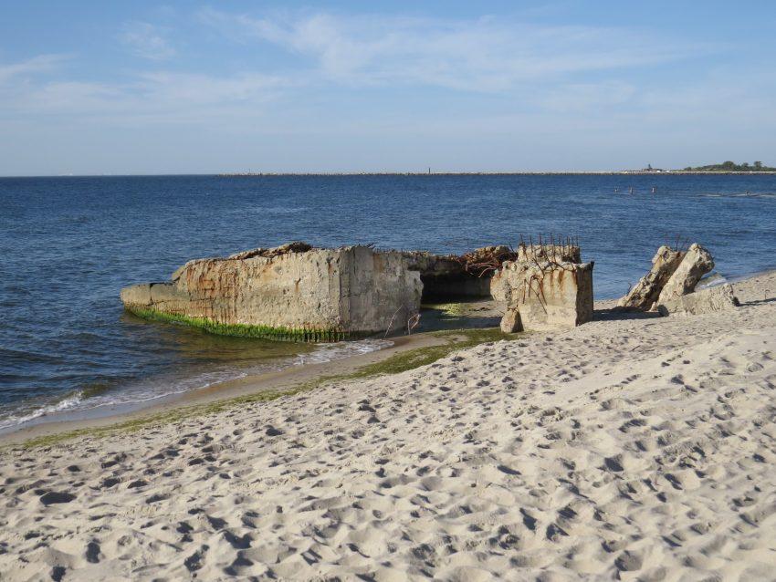 Бункеры на Балтийской косе