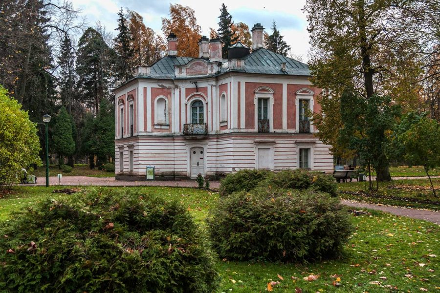 Дворец Петра III ораниенбаум
