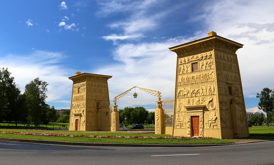 Египетские ворота Пушкин