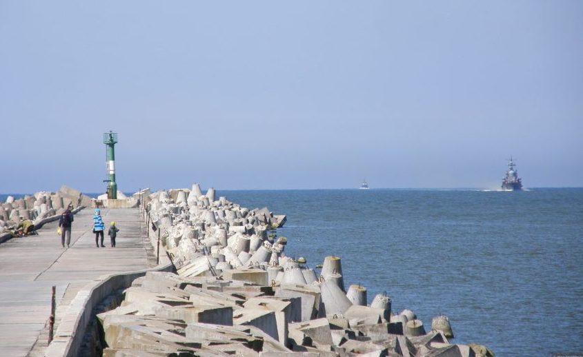 Южный мол Балтийская коса