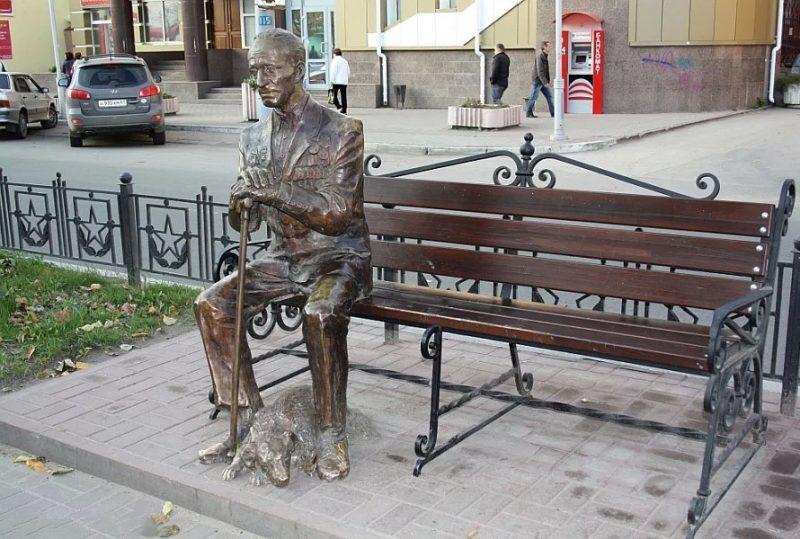 Памятник ветерану Калуга