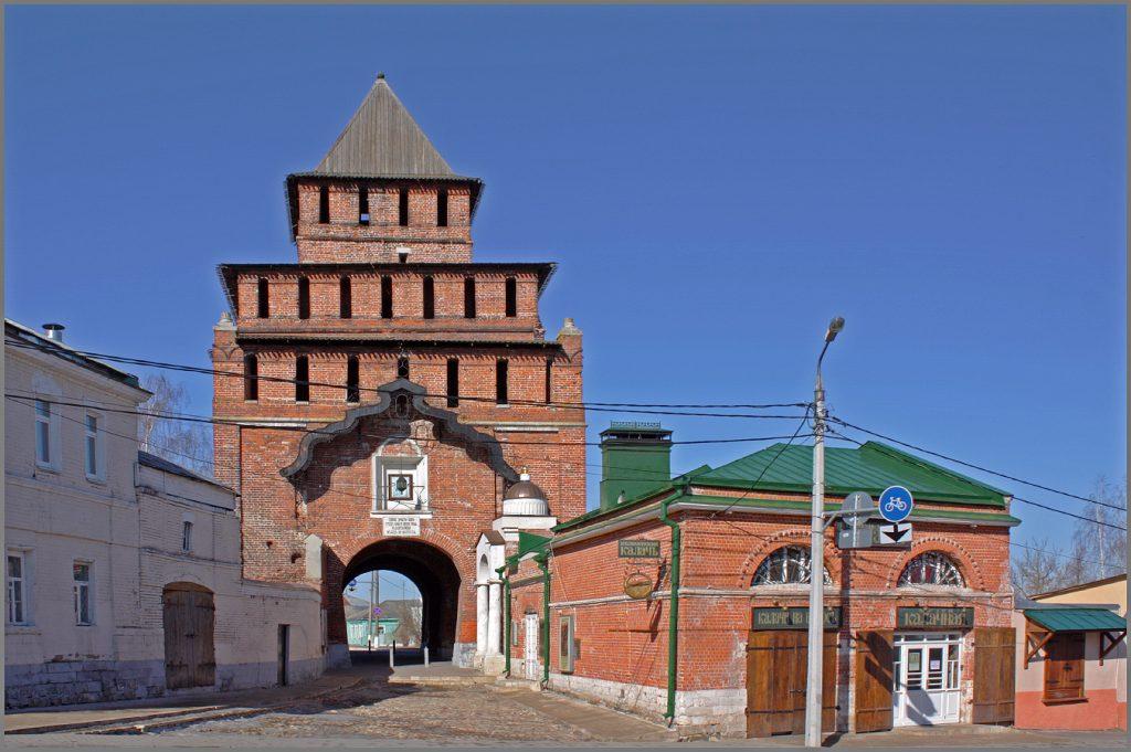 Пятницкие ворота Коломенский кремль
