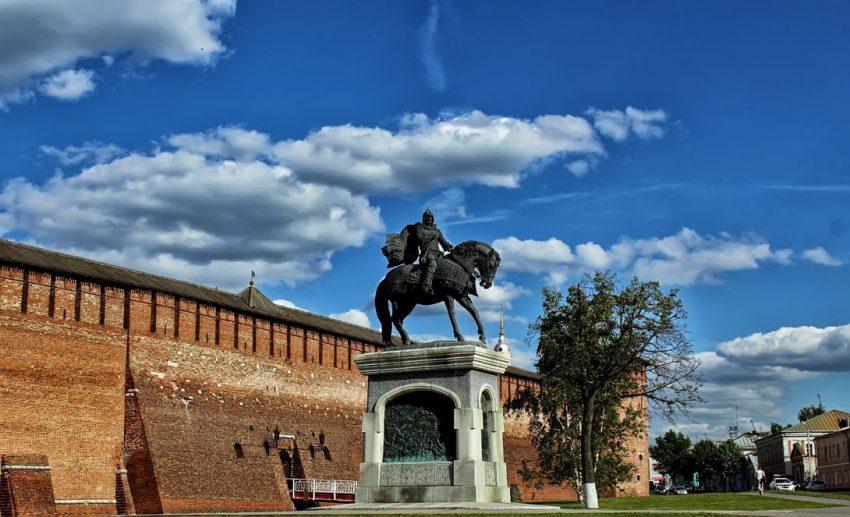 Памятник Дмитрию Донскому Коломна