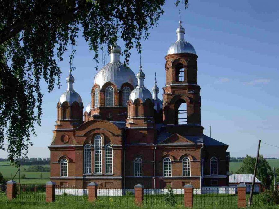 Церковь Казанской иконы Божией Матери Маколово