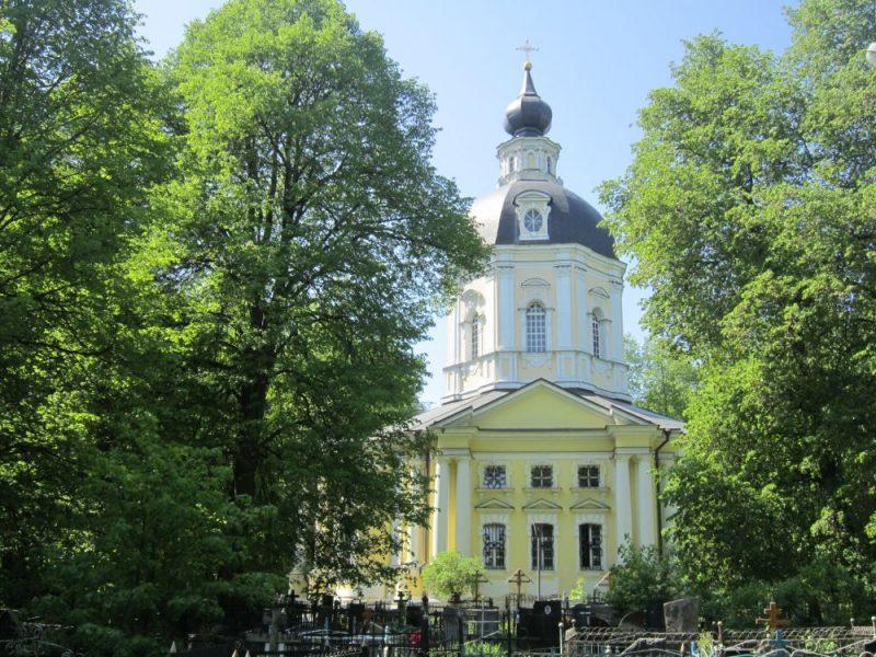 Спасская церковь Вороново