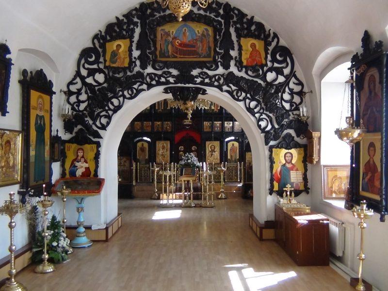 Успенская церковь Щапово