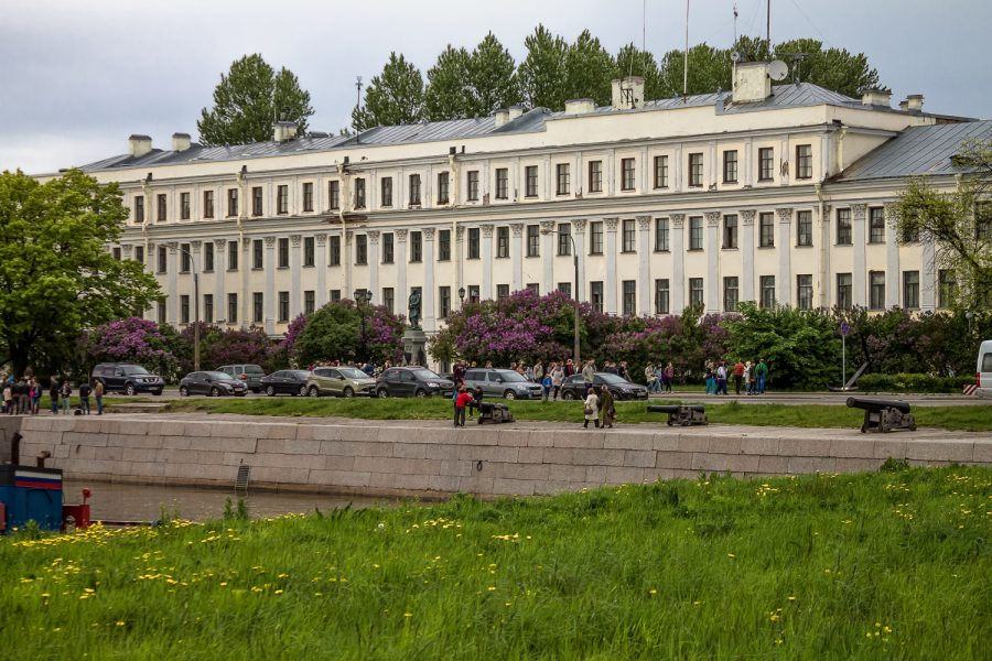 Итальянский дворец Кронштадт