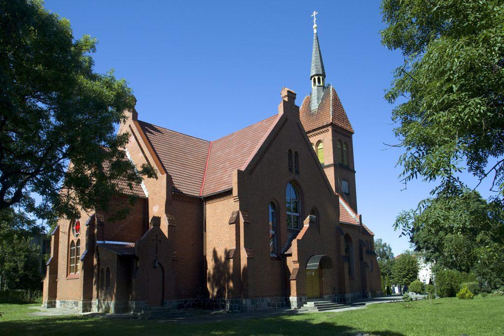 Кирха святого Адальберта зеленоградск