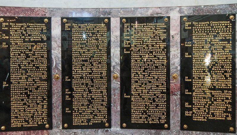 Морской Никольский собор мемориальные доски