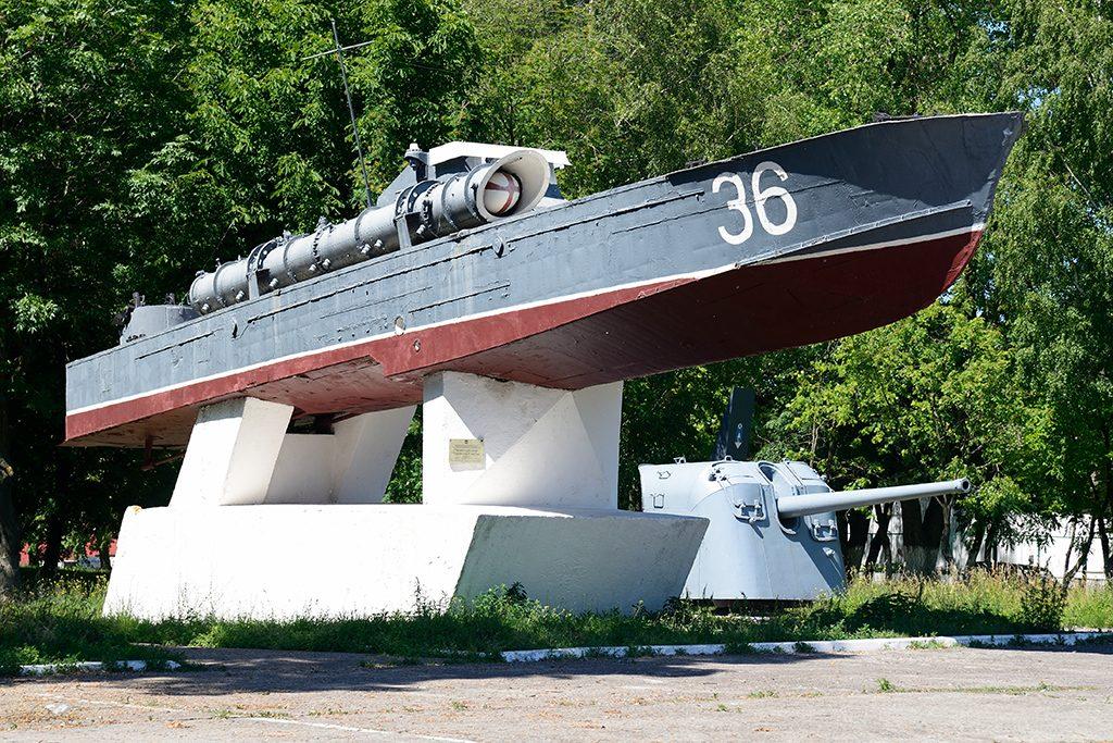 Торпедный катер Балтийск