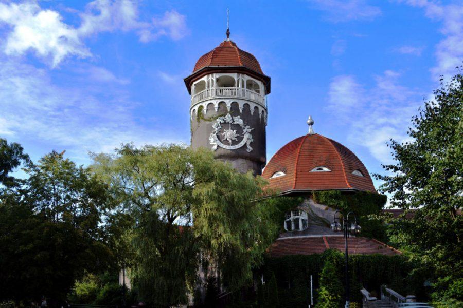 Башня водолечебницы, Светлогорск