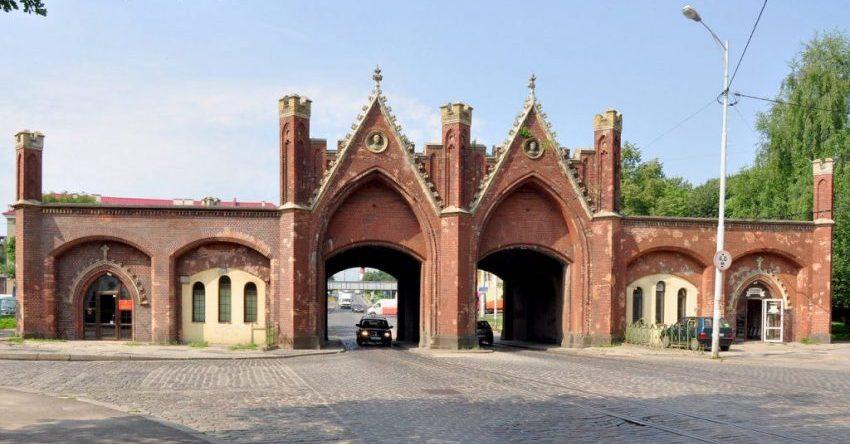 Браденбургские ворота Калининграда