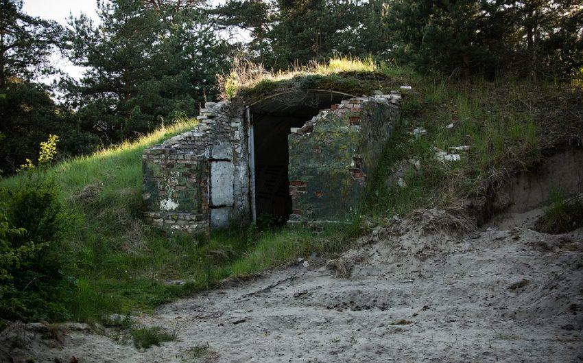 Бункер на Балтийской косе