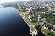 Достопримечательности Петрозаводска: Онежское озеро и набережная
