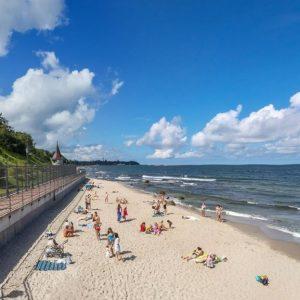 Достопримечательности Пионерского: море, песок и сосновый бор