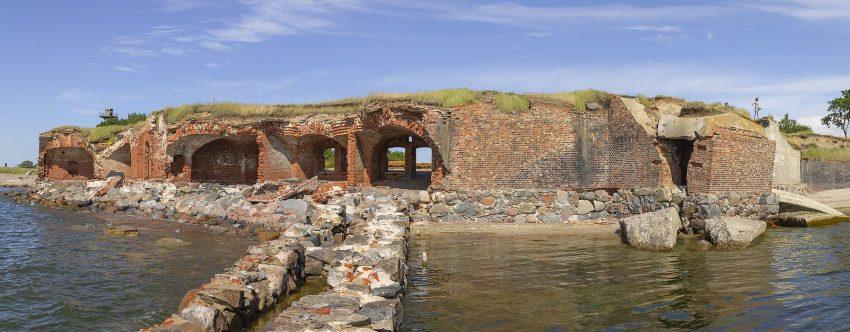 Форт Западный Балтийская коса