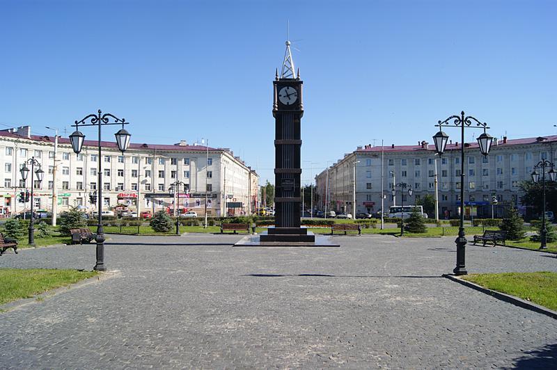 Площадь Гагарина Петрозаводск